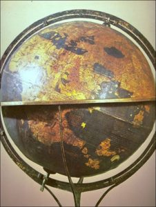 surviving globe made in 1492